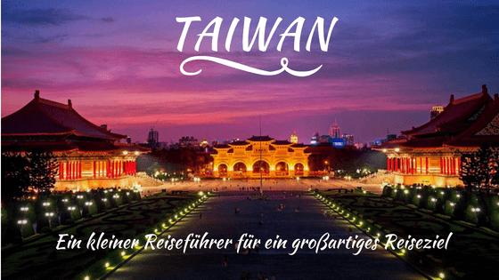 Reiseführer Taiwan klein