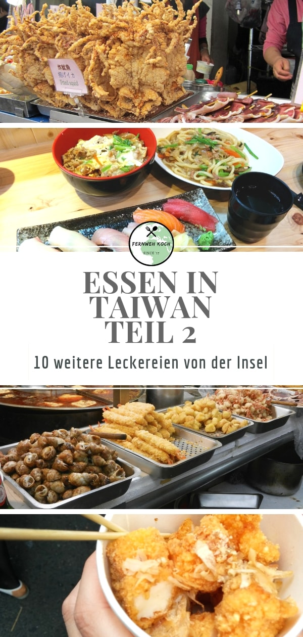 Essen in Taiwan - Teil 2 Pinterest
