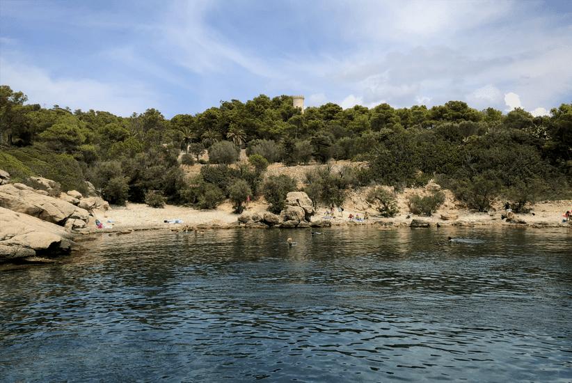 Blick in die Cala Llado Mallorca
