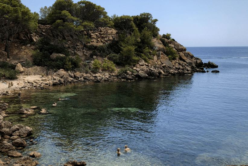 Cala Llado auf La Dragonera Mallorca
