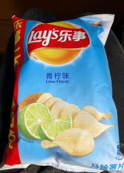 Lays Lemon Chips China