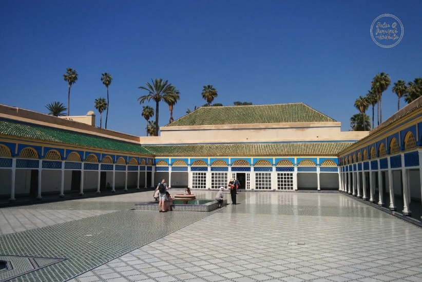 Palast in Marrakesch