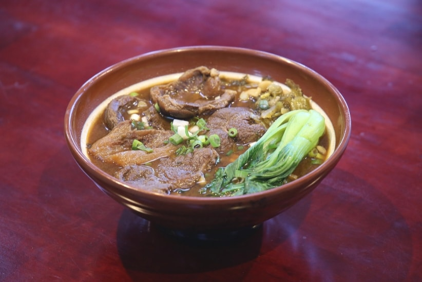 Beef Noodle Suppe Taiwan