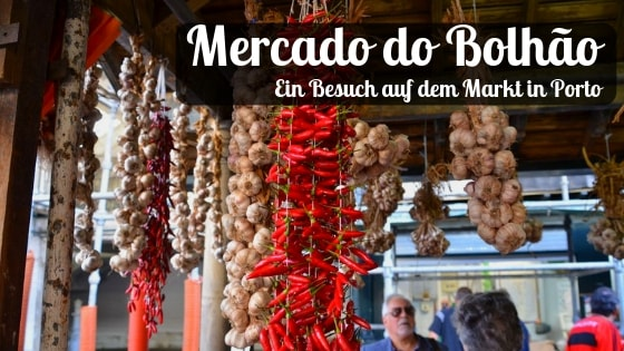 Mercado do Bolhão - Markt in Porto