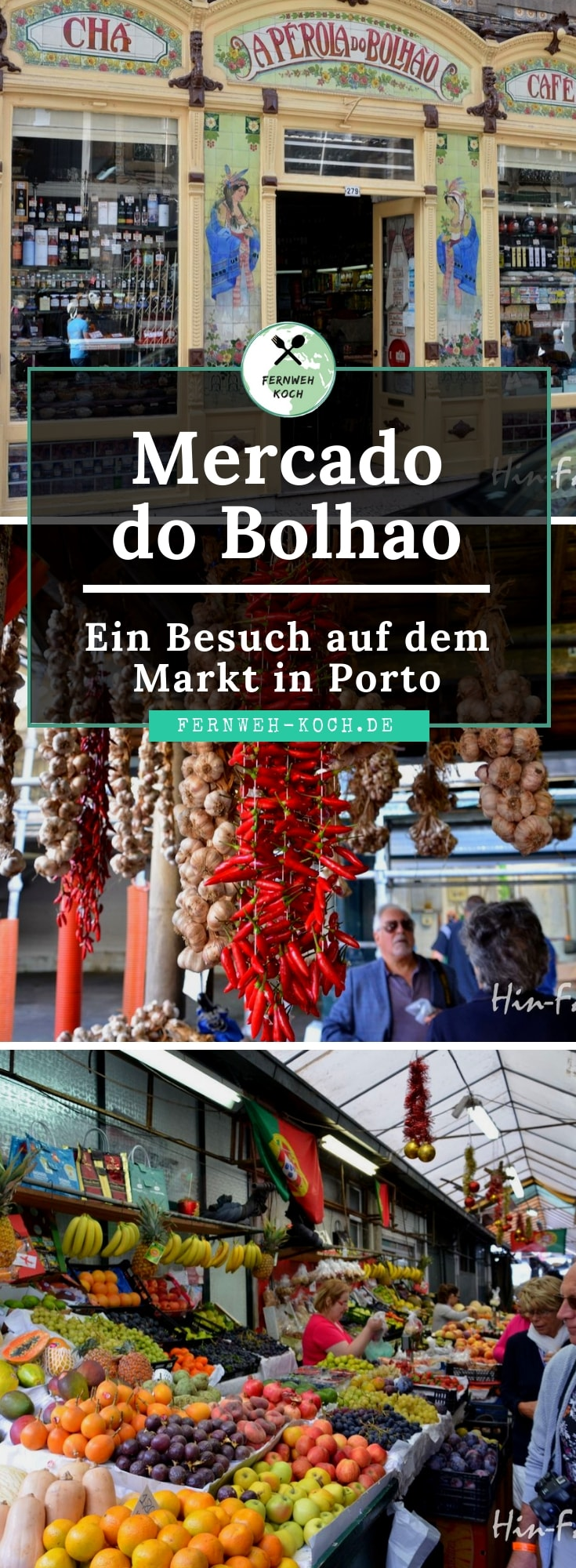 Mercado do Bolhao in Porto