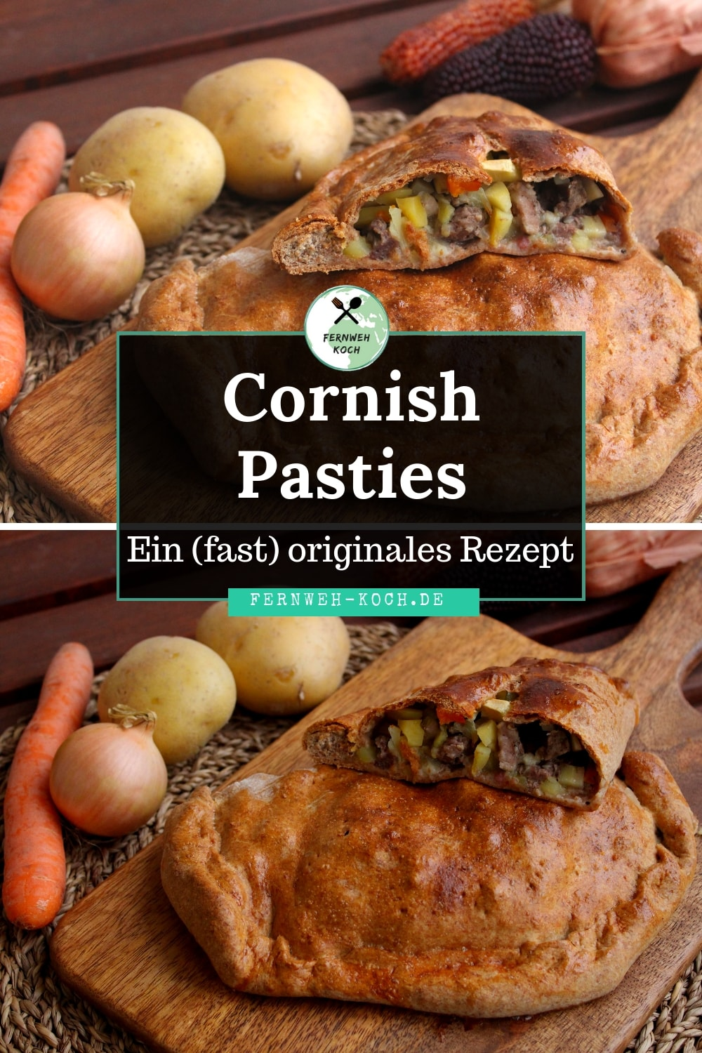 Rezept Cornish Pasty Pinterest