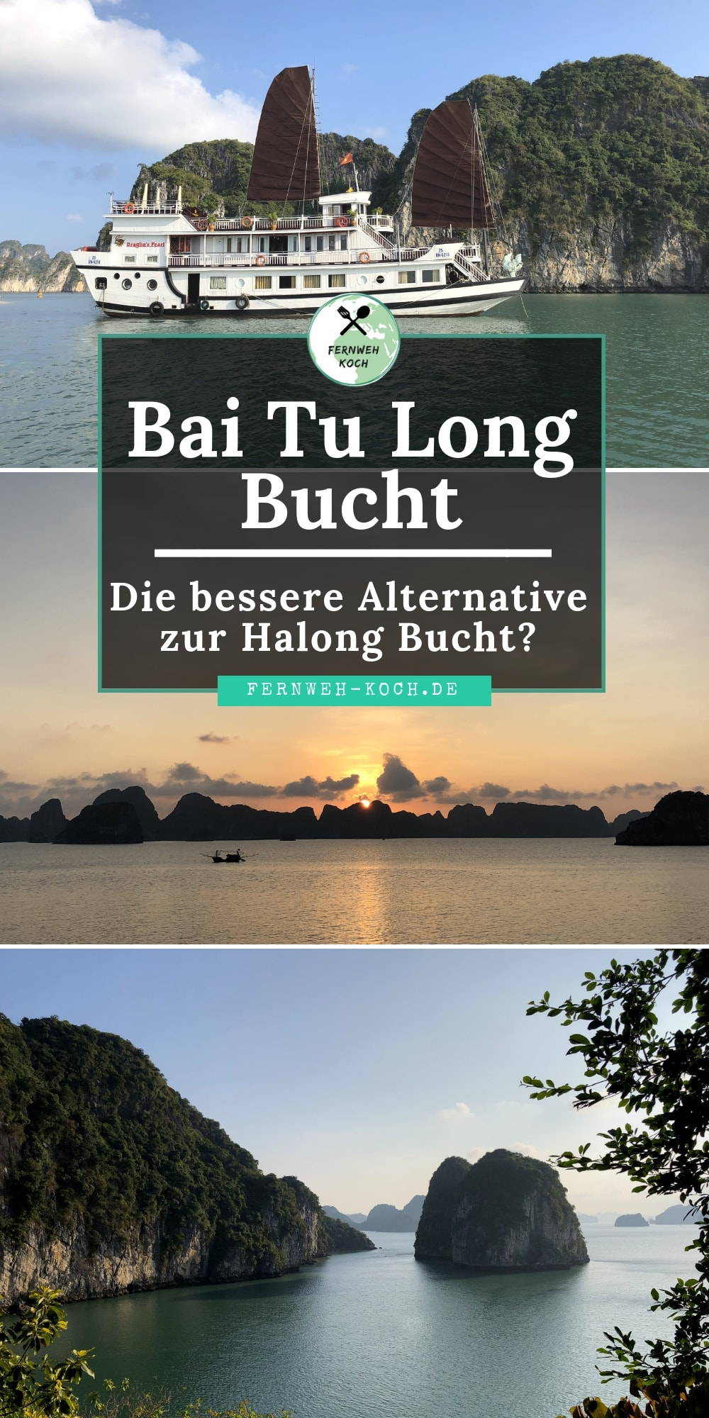 Bai Tu Long Bucht in Vietnam